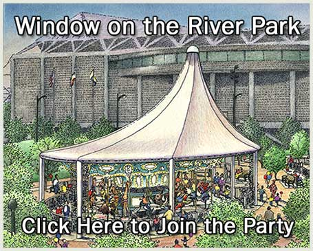 The carousel next the SAP Center. Click here to learn more about Window on the River Park.