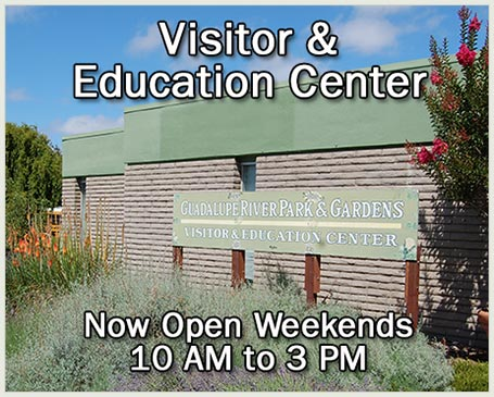 Visitor & Education Center Now Open Saturdays 10 AM to 3 PM